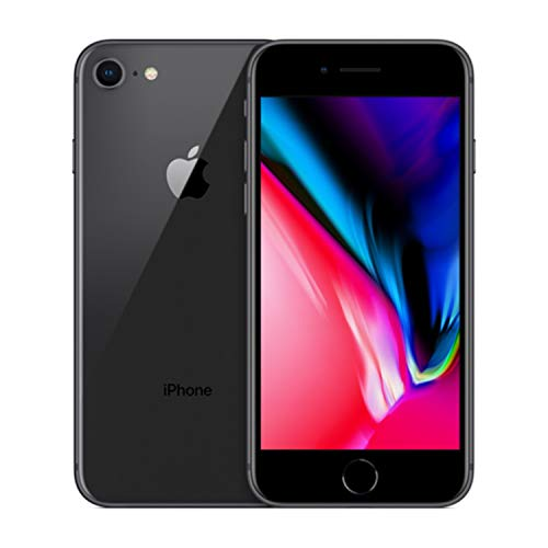 Apple iPhone 8, GSM Unlocked, 256GB - Space Gray (Renewed)