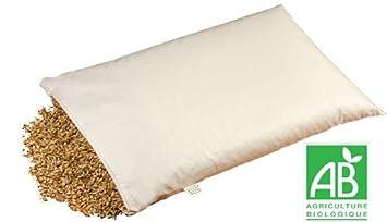 oreiller epeautre Oreiller naturel épeautre   Oreiller cervical   Certifié AB  oreiller epeautre