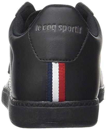 Black Lea Unisex Black Trainers Dark S Sportif Coq Bass Le Courtset Gray Full Adults' xwCUa66zq