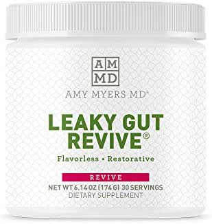 Dr. Amy Myers Leaky Gut Revive® Powder for Leaky Gut Repair– Reduce Symptoms Like Constipation, IBS, Diarrhea, Bloating, and Irregularity – Perfect Supplement to Naturally Maintain Healthy Gut Lining