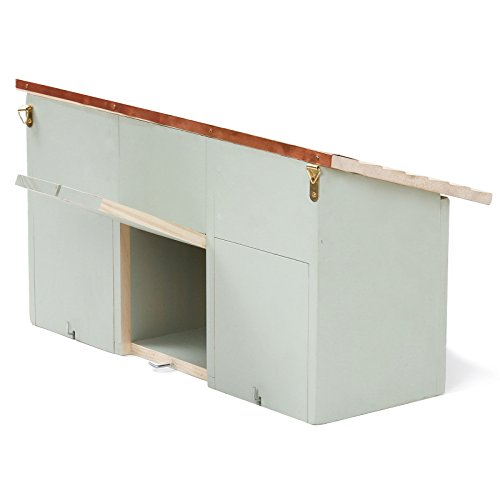 -[ Plant Theatre Sparrow Loft - 3 Bird Nesting Terrace - Perfect Garden Gift  ]-