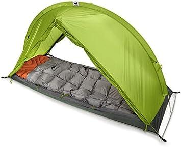 RhinoWolf Tienda de campaña para 4 estaciones con saco de dormir y colchón, todo en uno: Amazon.es: Deportes y aire libre