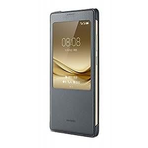 Huawei Funda Estilo Libro 51991401para Mate 8, Gris Oscuro