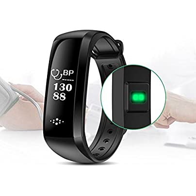 Cikuso M2S Smart Heart Rate Band Blood Pressure Monitors Fitness Tracker Sport Wristband for Android and IOS Black Estimated Price -