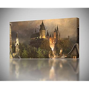 Hogwarts Harry Potter CANVAS PRINT Wall Art Decor Giclee *4 Sizes* CA140, Huge