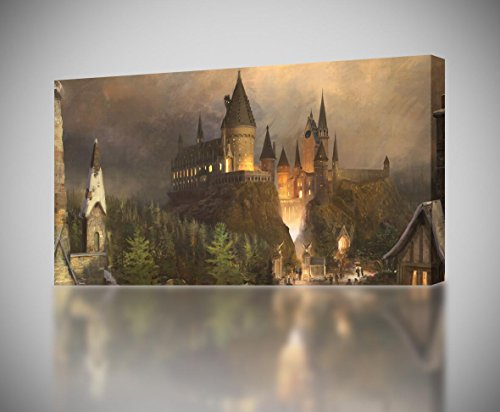 Harry Potter Hogwarts CANVAS PRINT Wall Art
