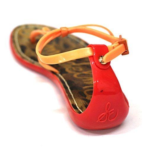 Sam para dedo del pie-Post Edelman carcasa blanda de y pedrería para mujer, estándar del Reino Unido 4 RRP £78