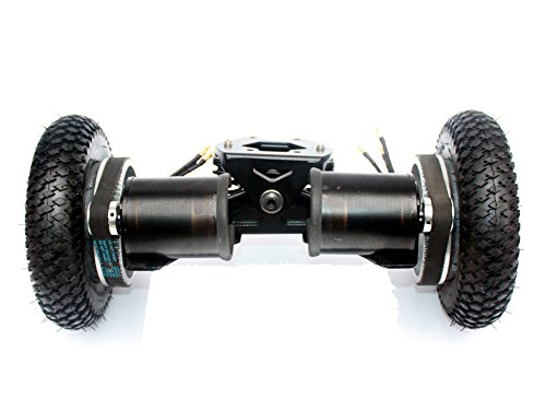 L-faster Electric Skateboard Truck Off Road Skateboard Belt Drive Truck 4 Wheel Longboard Mountains Skateboard 11 Inch Truck 8 Inch Wheel (Drive Truck)
