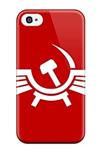 Best Hot Style Protective Case Cover For Iphone4/4s(communism Man Made)