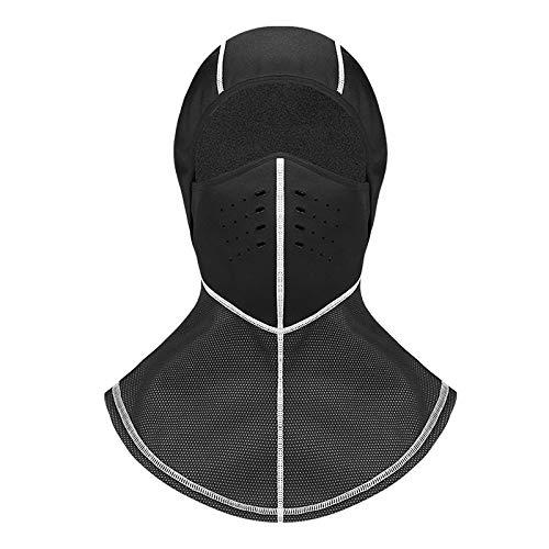 メンズ ウィンタースポーツ ライクラ ブラックマスク 防水 防風 スキー サイクリング バラクラバ帽 グレー 576893   B07P96YKSK