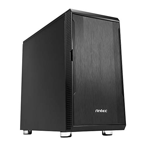 Antec Performance Series P5 Mini Tower Silent PC Computer Case with Sound Dampening Panels, SSD/ODD Support, Pre-Installed 120/140mm Fans, 7 Drive Bays, 360mm VGA Card, Micro-ATX/ITX
