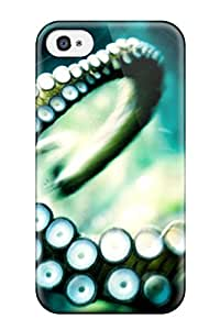 Waterdrop Snap-on Octopus Case For Iphone 4/4s