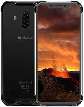 Blackview BV9600E【2020】 4G Smartphone Libre Resistente, Helio P70 4GB + 128GB, Android 9.0 IP68 Móvil Antigolpes Todoterreno, 6.21 FHD + AMOLED, Dual SIM, NFC, 16MP + 8MP, Carga Inalámbrica Negro: Amazon.es: Electrónica
