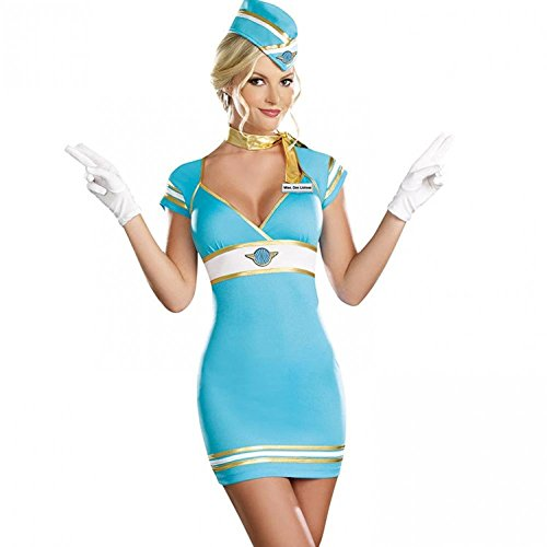 [Our Wings Navy Sailor Suit Uniforms Sexy Uniforms Lady Game] (Sailor Outfits For Ladies)