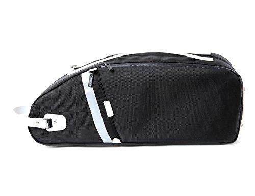 Curtis Bags Dulcinea Saxophone Insulation Case - Alto Semi-Hard Leather Trim One Size White Trim by Curtis Bags