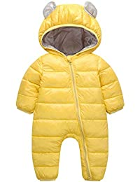 ec50ef27dd7d Baby Boys Girls Kid 0-24 Months Rompers Children Winter Thick Cotton Warm  Clothes Jumpsuit