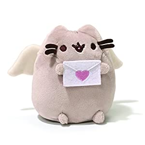 Enesco 4056995 Pusheen Cupid Plush Toy 425 Amazoncouk
