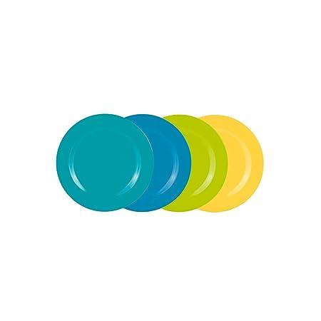 Zak 2356-4410 Ice Cool - Platos para Ensalada (24 cm, 4 ...