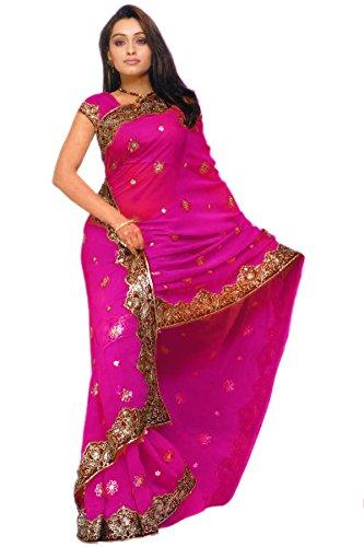 Sari Fabric Belly Dance Dress - 9