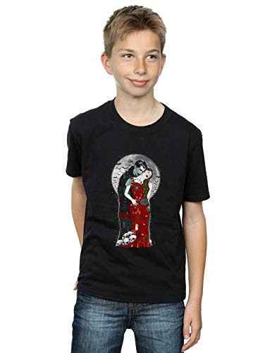 Vincent Trinidad Boys Vampire's Kiss T-Shirt Black 12-13 Years