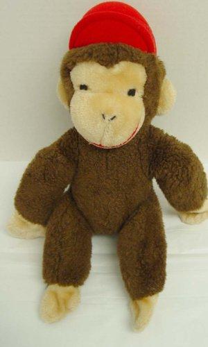 Vintage Curious George Eden 1984 Plush Stuffed Animal Figure Doll Monkey Toy 11