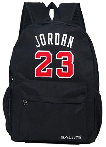 899a85199688 SALUTE Polyester 20L Black School Bag