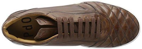 Pantofola d'Oro Cxxx Low, Zapatillas para Hombre Marrón (43 Tabacco)