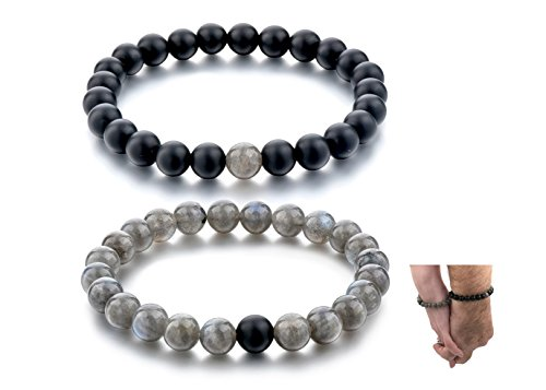 Connected Bracelets Friendship Relationship Labradorite