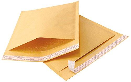 50-14.5x20 Lightweight Self Sealing Tear & Puncture Resistant Padded Kraft Bubble Mailer Envelope Bags
