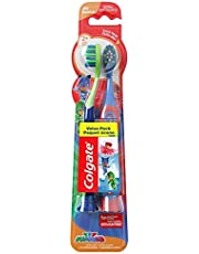 Colgate Kids Extra Soft Toothbrush with Suction Cup, PJ Masks, 2 Count