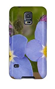 Galaxy S5 Case, Premium Protective Case With Awesome Look - Earth Flower