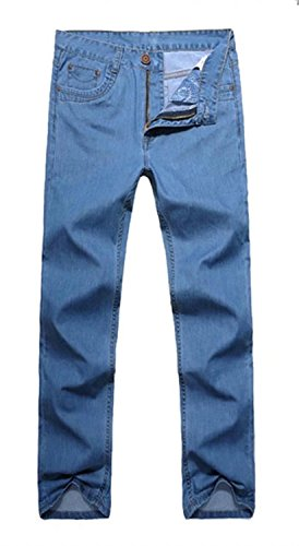 EMAOR Mens Big and Tall Denim Pants Straight Leg Jeans Plus Size by EMAOR Mens (Image #3)