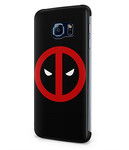 Deadpool Circle Logo Superhero Comics Plastic Snap-On Case Cover Shell For Samsung Galaxy S6 EDGE