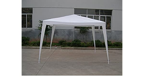 BG - Gacebo 3x3 rafia color blanco. PLICOSA - 800183: Amazon.es: Hogar