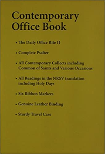 Contemporary Office Book: New Revised Standard Version