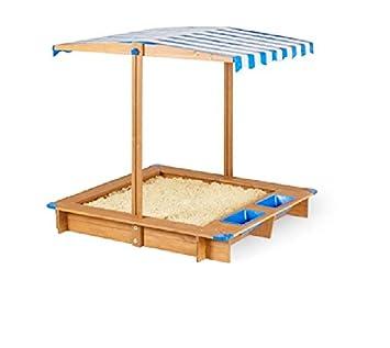 Berühmt Playland Sandkasten Mit Dach Sandbox Sandkiste Holz Spielhaus UV LF07