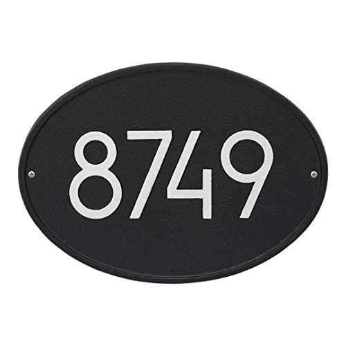 Whitehall 3140BS Hawthorne Modern Personalized Wall Plaque in ()
