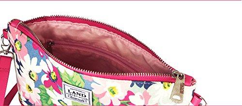 Bolsa de mensajería de impresión rosa, bolsa multiusos, paquete de mamá multiusos