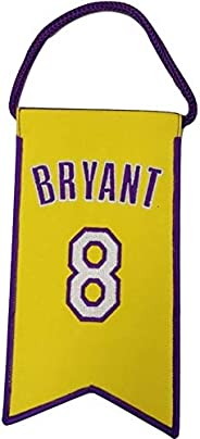 Kobe Bryant Los Angeles Lakers Jersey Retirement Mini Banner Pennant #8