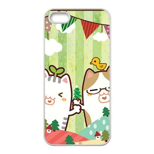 Lovely cartoon joyful seed cat personalized creative custom protective phone case for Iphone ipod touch4