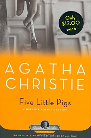 book cover of Five Little Pigs