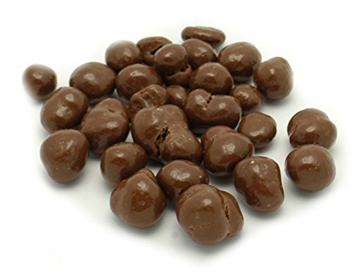 Weaver Chocolates Milk Chocolate Covered Espresso Beans (1 LB.) by Weaver Chocolates