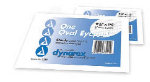 Dynarex Corporation (n) Sterile Oval Eyepad Sterile 2 5/8 X 1 5/8 50 Pouches/ Bx (Pads Eye Sterile)
