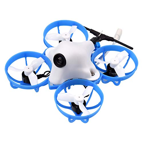 BETAFPV Meteor65 1S Brushless Whoop Drone with F4 1S Brushless FC V2.1 BT2.0 Connector M01 AIO Camera 25mW VTX 0802 Motor for Micro Tiny Whoop FPV Whoop Drone Quadcopter (Meteor65 Racing Crossfire)