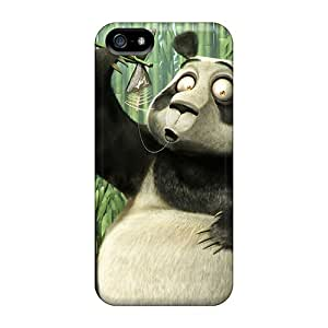 Skycool Perfect Tpu Case For Iphone 5/5s/ Anti-scratch Protector Case (panda 2012)