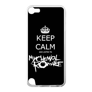 My Chemical Romance Band Apple iPod Touch 5th Case Cover Protecter - Retail Packaging - Laser Rubber