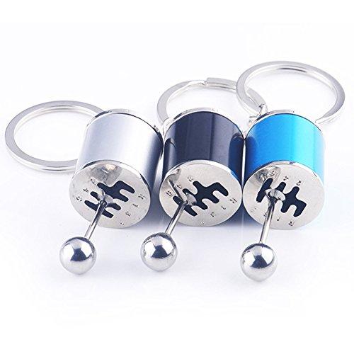 Gotoole Creative Car 6-Speed Gear Shifter Model Metal Key Chain Fob Ring Car Keychain