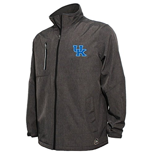 Kentucky Wildcats Jackets (NCAA Kentucky Wildcats Men's Bonded Stand Up Collar Stadium Jacket, Large, Dark Gray)