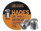 JSB Match Diabolo Hades.25 Cal, 26.54gr, Pointed