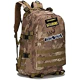 JOY 7th Sports Outdoor Military Backpack PUBG Level 3 Tactical Backpack Molle Assault Camping Hiking Trekking Hunting Climbing Traveling